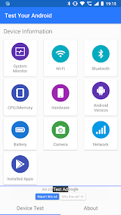 Test Your Android - Hardware Testing Tools Screenshot
