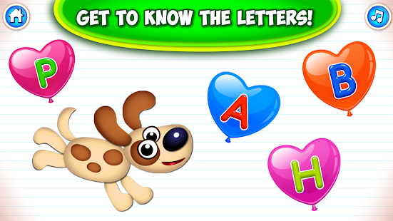 Super ABC! Learning games for kids! Preschool apps Screenshot