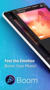 Boom: Music Player with 3D Surround Sound and EQ v1 0 0 [Unlocked