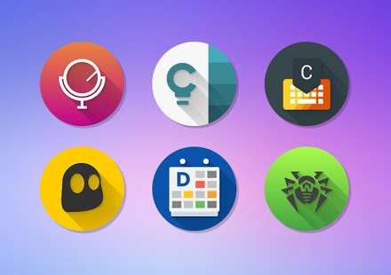 Icon Pack - Android™ Oreo 8.0 Screenshot