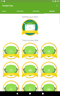 Smoke Free, quit smoking now and stop for good Screenshot