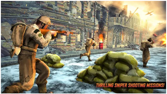 Call for War Sniper Duty WW2 Battleground v2.3 MOD APK