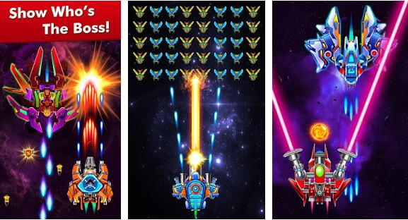 Galaxy Attack Alien Shooter v6 19 Mod Money Apk Free Download   ApkMagic