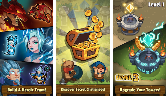 Realm Defense Hero Legends TD v2.0.7 Mods Apk Free Download