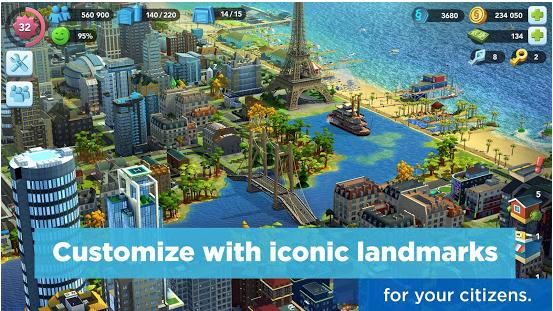 SimCity BuildIt v1 25 2 81407 Mega Mod Apk Free Download