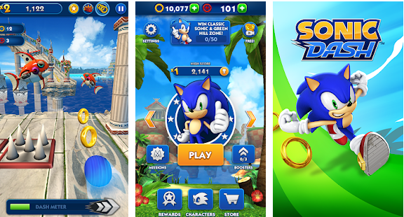 Sonic Dash v3 8 6 Go Mod Apk Free Download | ApkMagic