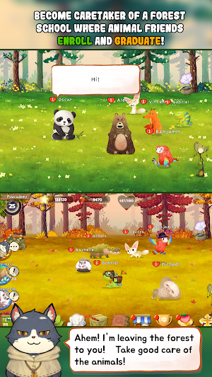 Animal Forest : Fuzzy Seasons (Start Pack Edition) Apk + Mod