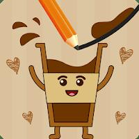 Where's My Coffee? Draw Line mod v1 0 apk download   ApkMagic