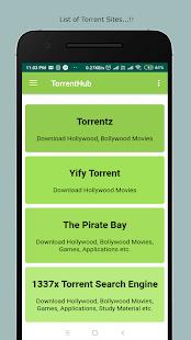 TorrentHub - Movie Download App Screenshot
