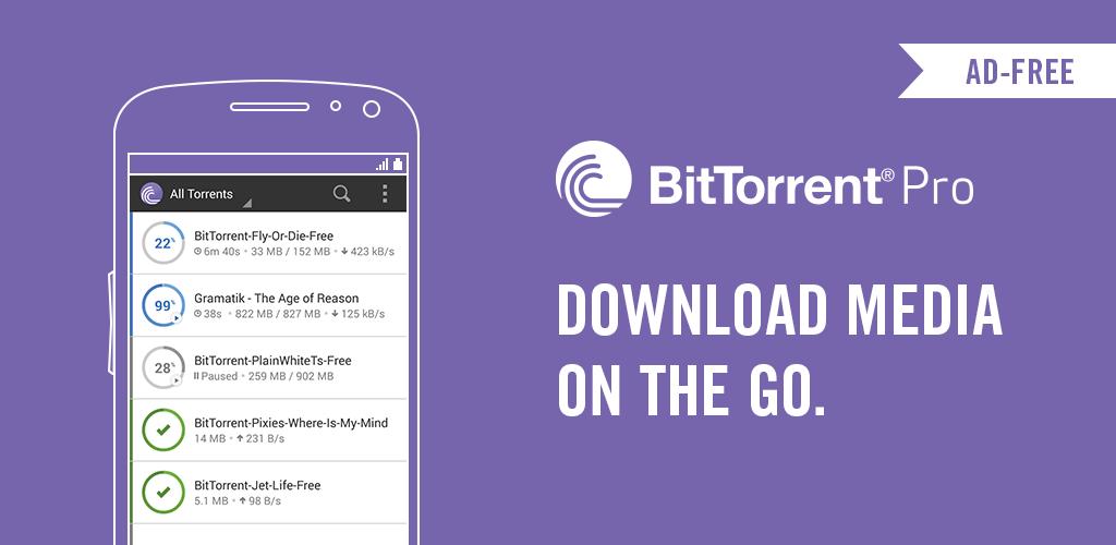 BitTorrent Pro - Aplikasi Torrent 6.5.6 (Lengkap) Apk + Mod Android