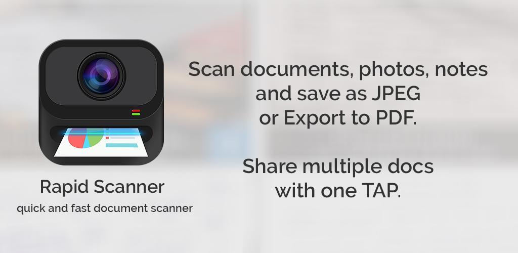 Camera Scanner, Scan Documents – Rapid Scanner v4 1 o (Pro