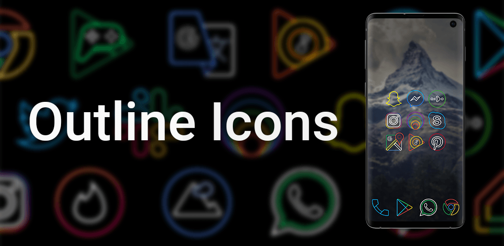 Outline Icons 2 0 – Icon Pack v2 01 (Patched) APK | ApkMagic