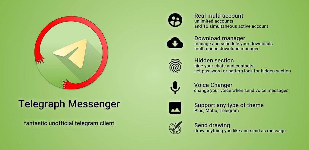 Telegraph Messenger vT5 4 0 – P7 1 [Lite Mod] APK | ApkMagic
