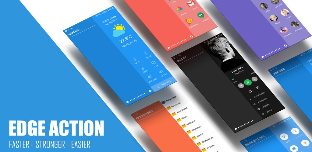 Edge Action: Edge Screen, Sidebar Launcher v1 5 7 (Premium) APK