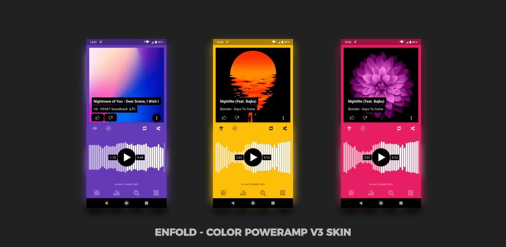Enfold – Color Poweramp v3 Skin v1 0 (Paid) APK | ApkMagic