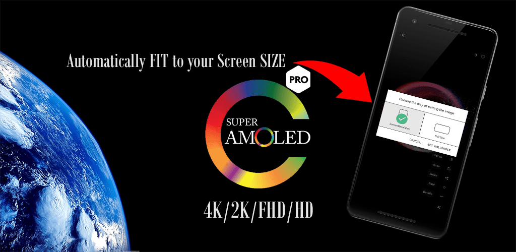 PREMIUM AMOLED 4K & HD Wallpapers Collection v1 0 0 (Paid) APK