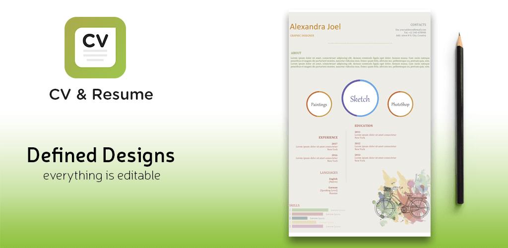 Resume Builder Curriculum Vitae Resume Maker Pro V2 5 Apk Apkmagic