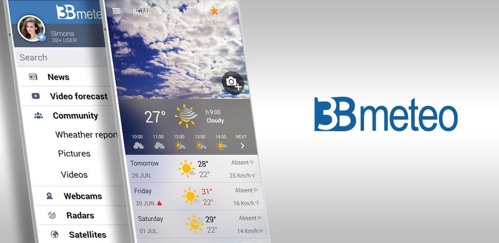 3B Meteo – Weather Forecasts v4 2 1 (Unlocked)[SAP] APK | ApkMagic