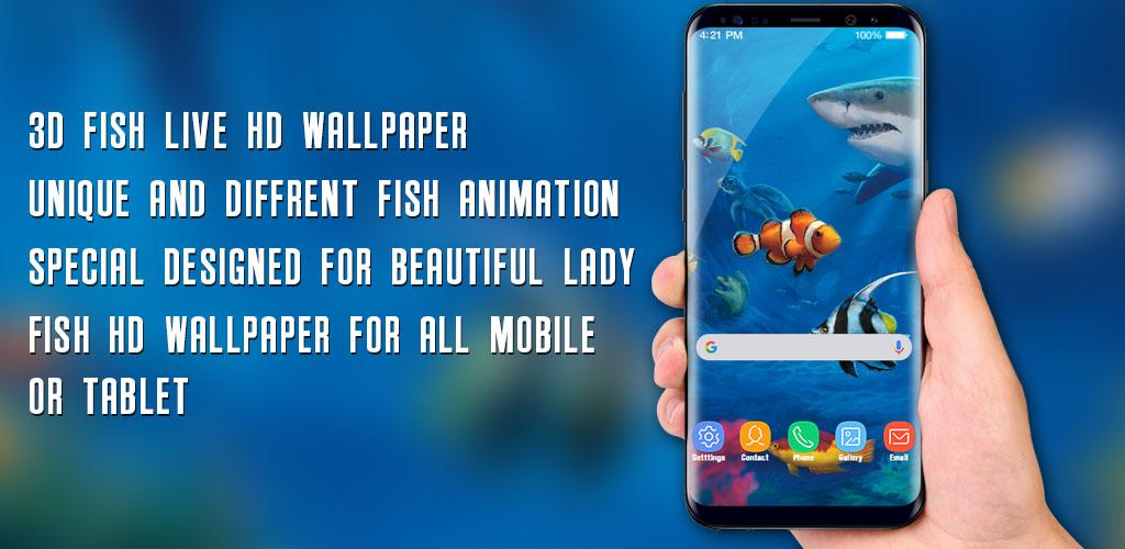 Fish Live Wallpaper 3d Aquarium Background Hd Pro V12