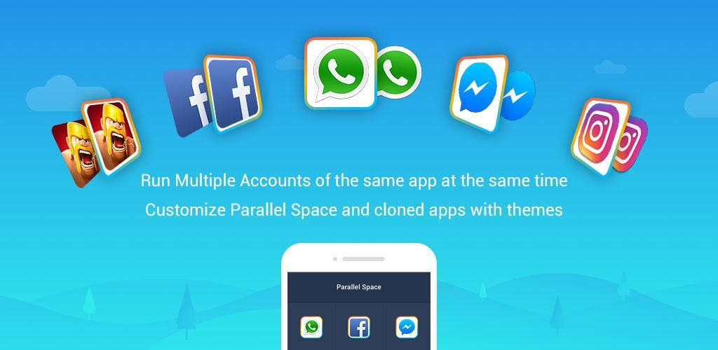 Parallel Space – Multi Accounts & Two face v4 0 8787 (Pro