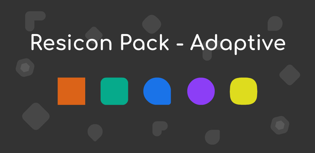 Resicon Pack – Adaptive (The Adaptive Icon Pack) v1 0 3