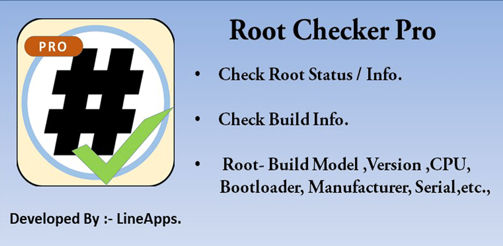 Root Checker Pro v17 1 0 (Paid) APK | ApkMagic