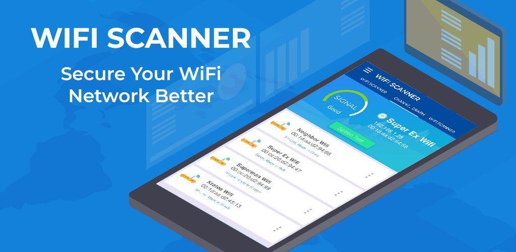 WiFi Scanner: Speed Tester, Signal Strength Meter v1 1 2