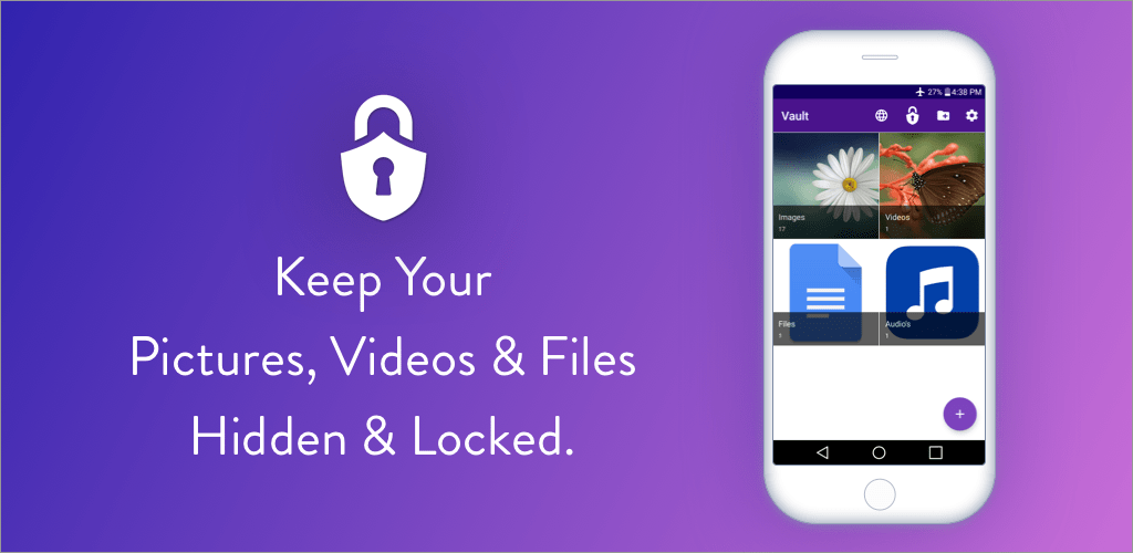 Easy Vault : Hide Pictures, Videos, Gallery, Files v2 73 (Pro) APK