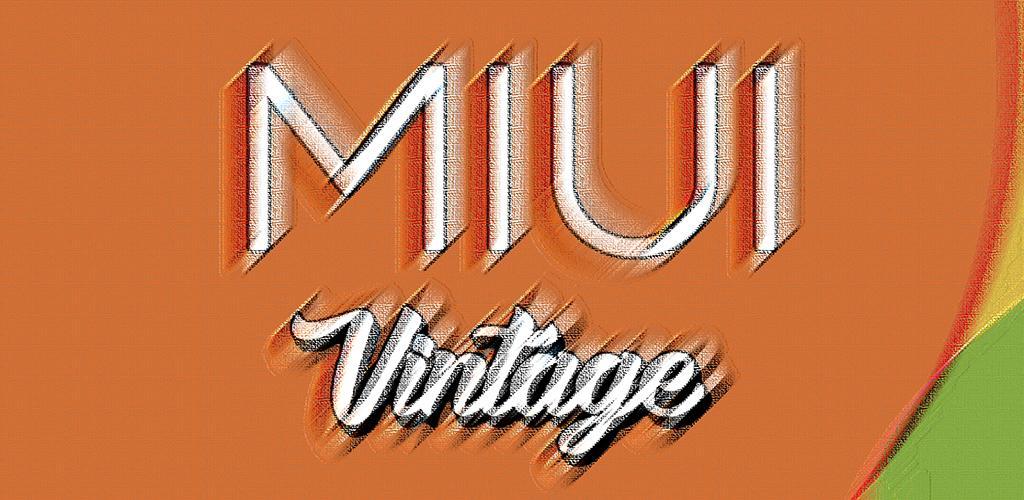 MIUI VINTAGE – ICON PACK v2 0 (Patched) APK | ApkMagic