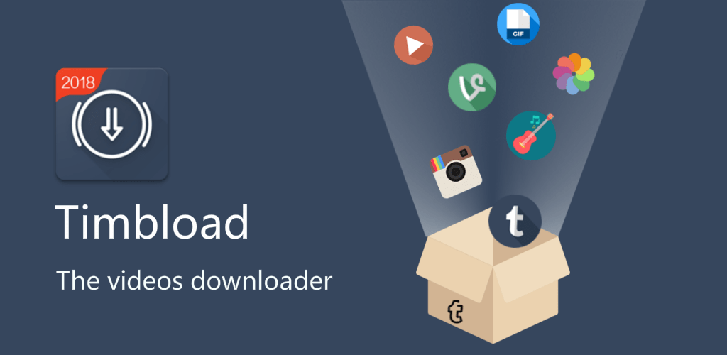 Timbload – All video downloader (Tumblr & Twitter) v1 48 1