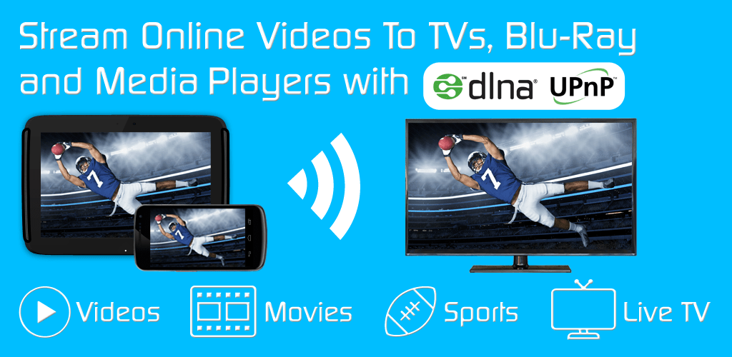 Video & TV Cast | DLNA Player & UPnP Movie Mirror v1 12 (Premium