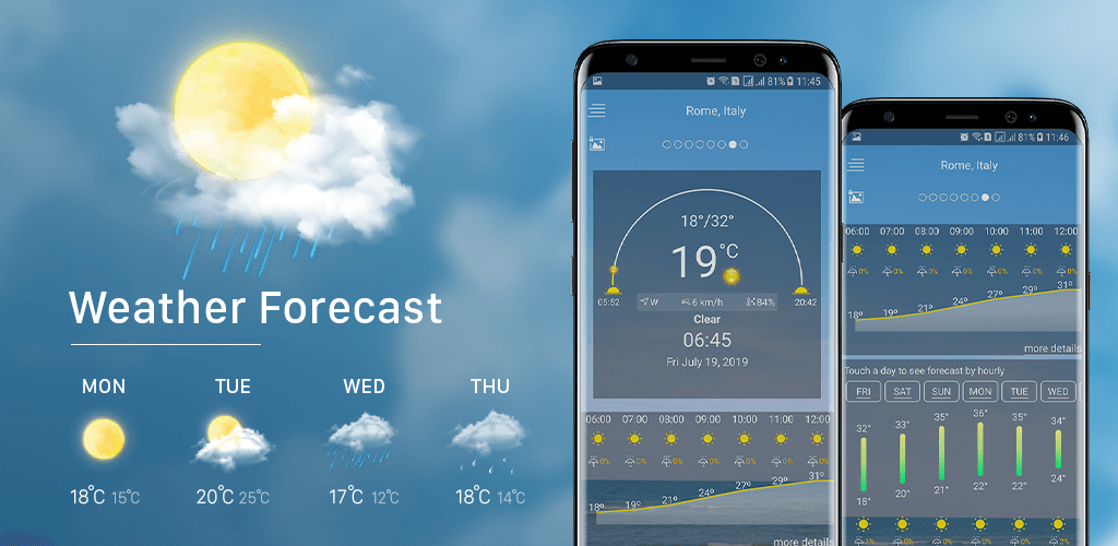 Weather Forecast Pro – Accurate Weather Channel v1 0 (Paid
