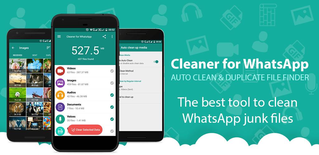 Cleaner for WhatsApp v2.0.2 (Mod) APK   ApkMagic