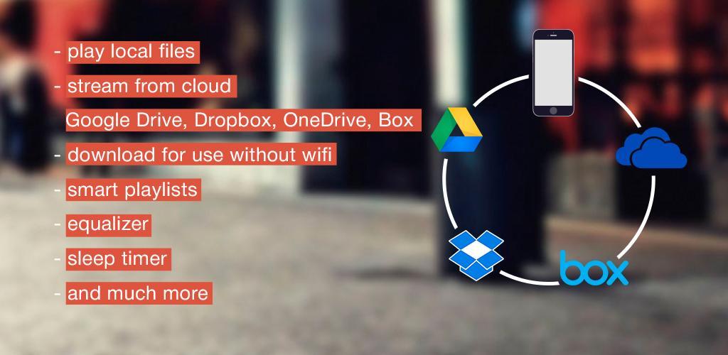 CloudBeats – offline & cloud music player v1 4 0 5 (Pro) APK