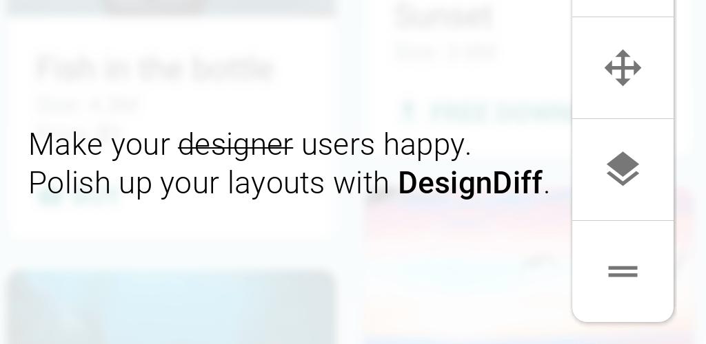 DesignDiff: alpha overlay pixel perfect tool v1 2 0 APK