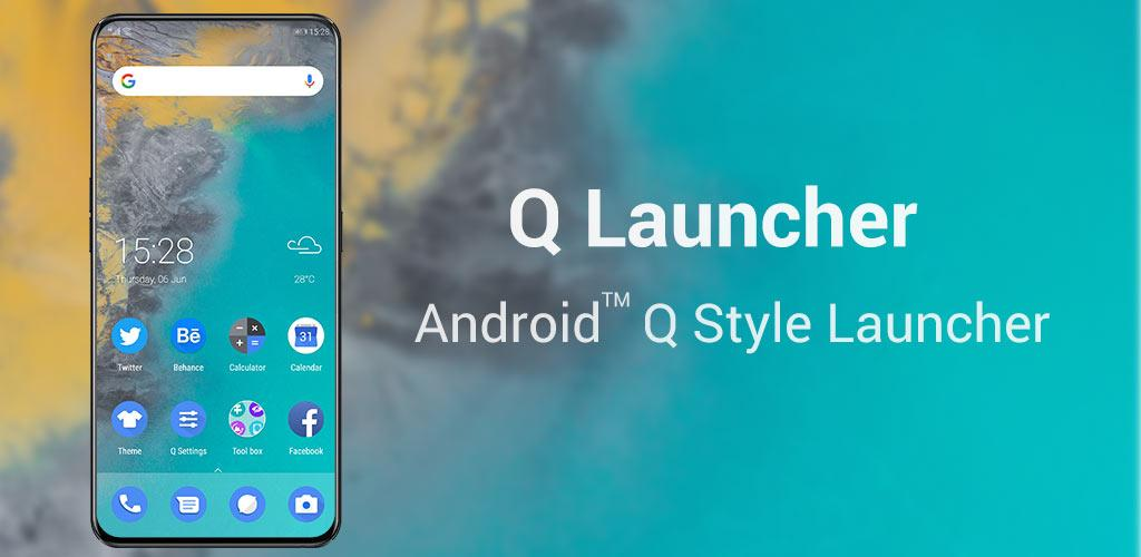 Q Launcher for 10 0 Q launcher, UI, theme v6 5 1 (Premium