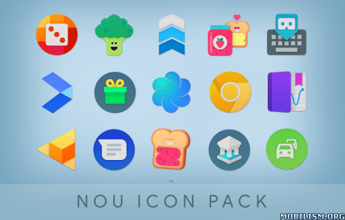 NOU – Ultimate Material Icon Pack v4 5 [Patched] | ApkMagic