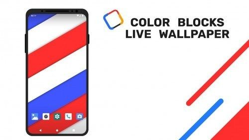 Color Blocks Live Wallpaper V106 Paid Apkmagic