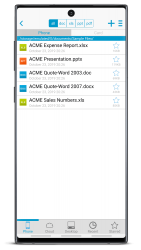 docs to go free office suite