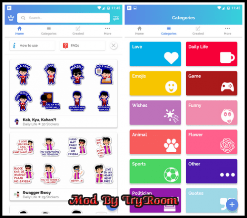 sex stickers apk