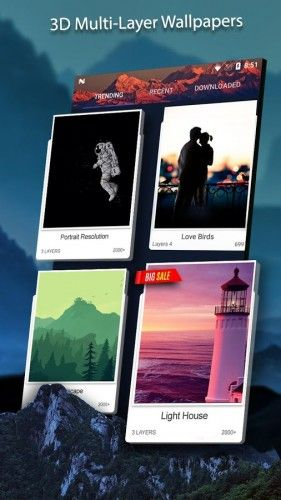 3D Wallpaper Parallax 4D Backgrounds v6.0.340 Pro