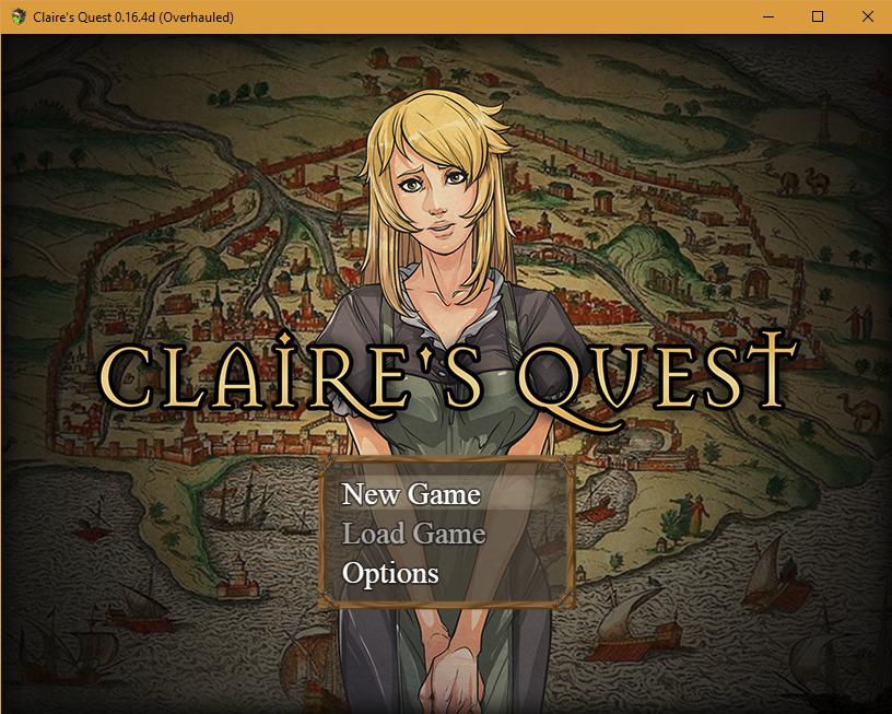 Claire's Quest [v0.22.1] (18+)