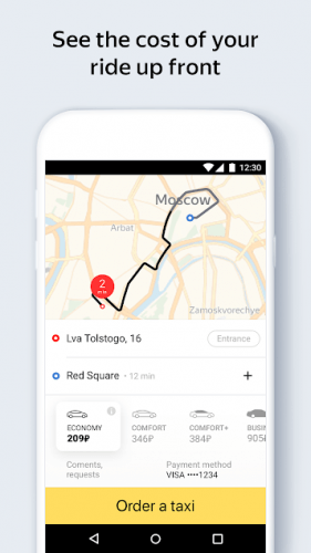 Yandex Go — taxi and delivery v4.0.1 [Mod]