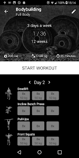 Bodybuilding. Free Weight Workout v1.19 [Pro][Mod][SAP]