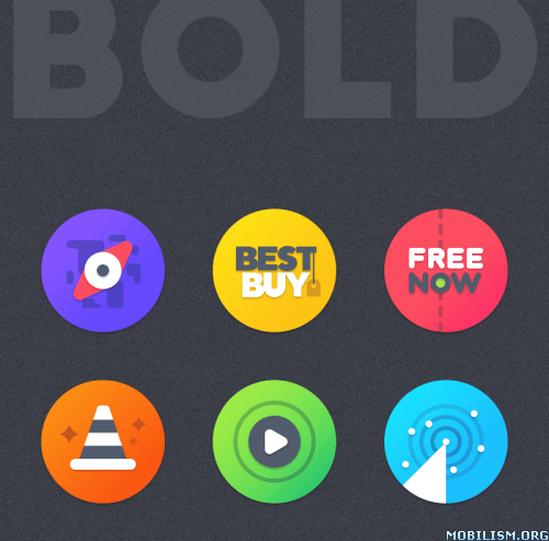 BOLD - ICON PACK v2.0.4 [Patched]