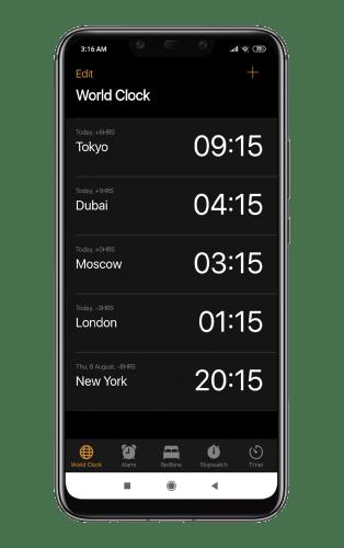 iClock OS 13- Clock iPhone Xs, Phone 11 v3.0.4 [Pro][SAP]