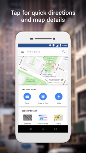 Google Maps Go - Directions, Traffic and Transit v150.0