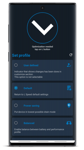 L Speed (Gaming~Battery saver~Performance) [ROOT] v2.4.1 [Mod]