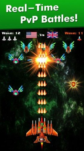 Galaxy Attack: Alien Shooter v28.2 (Mod Money)