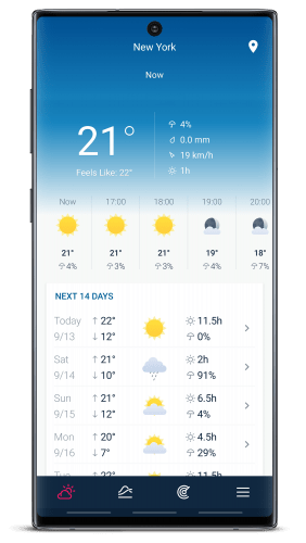 WeatherPro: Forecast, Radar and Widgets v5.6.1 [Premium] [Mod]